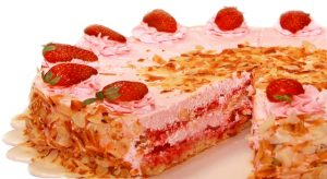 Cream Cake Strawberry