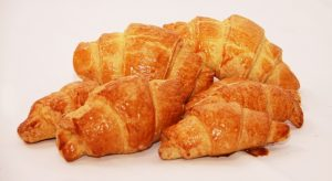 Croissant w. Cheese and Ham