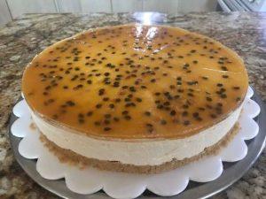 Maracuya cheesecake