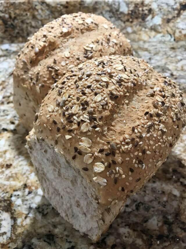 Whole Wheat Bread Multigrain loaf